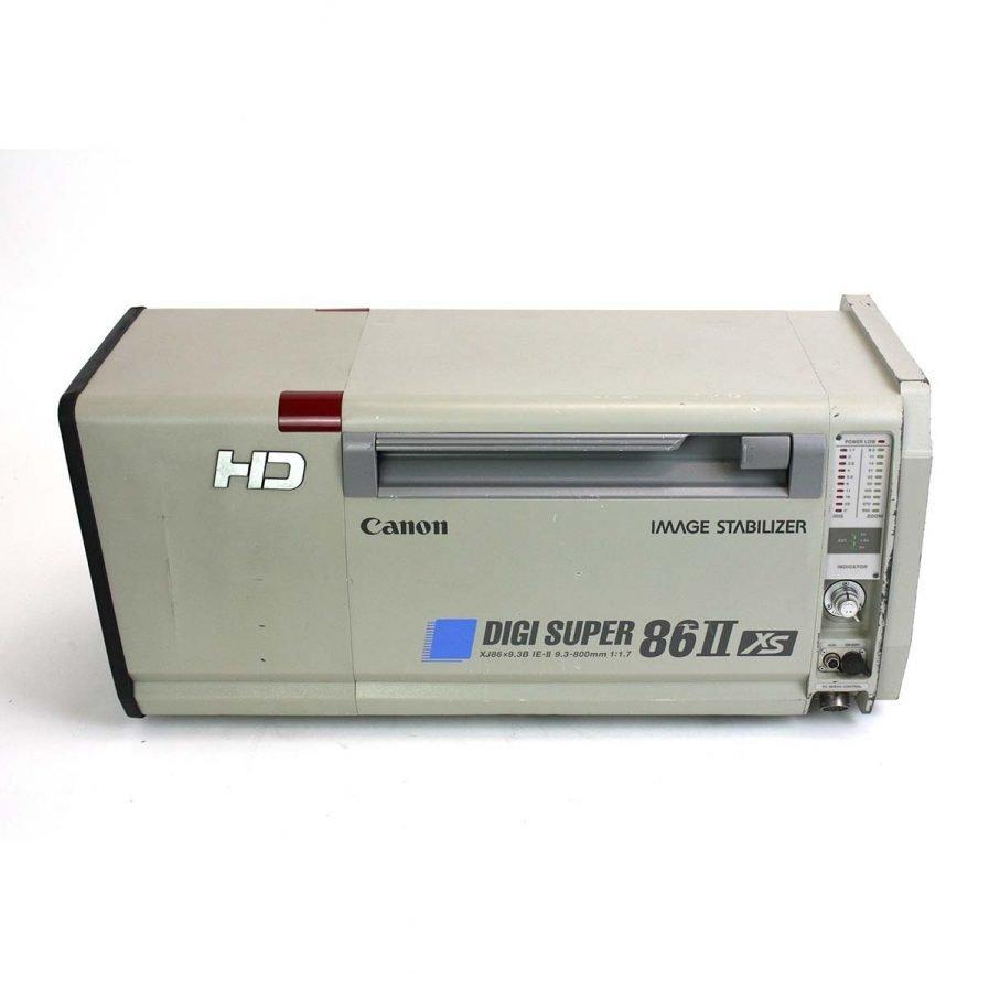Used Canon XJ86x9.3B MKII DIGISUPER 86 HD Lens
