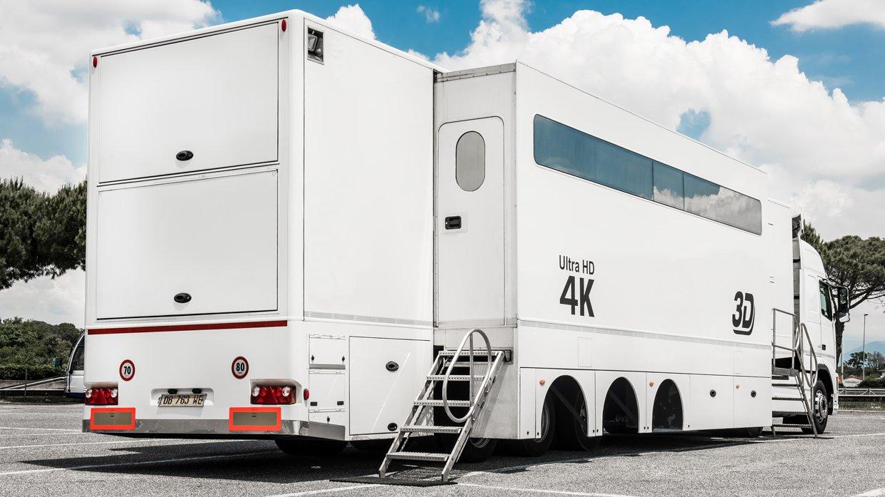 24-CAMERA DOUBLE-EXPANDABLE 4K-READY OB TRAILER