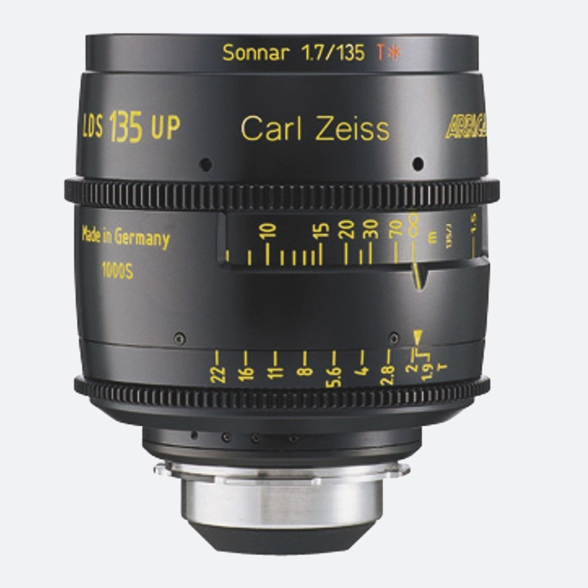 ARRI 135mm T1.9 LDS Ultra Prime Lens