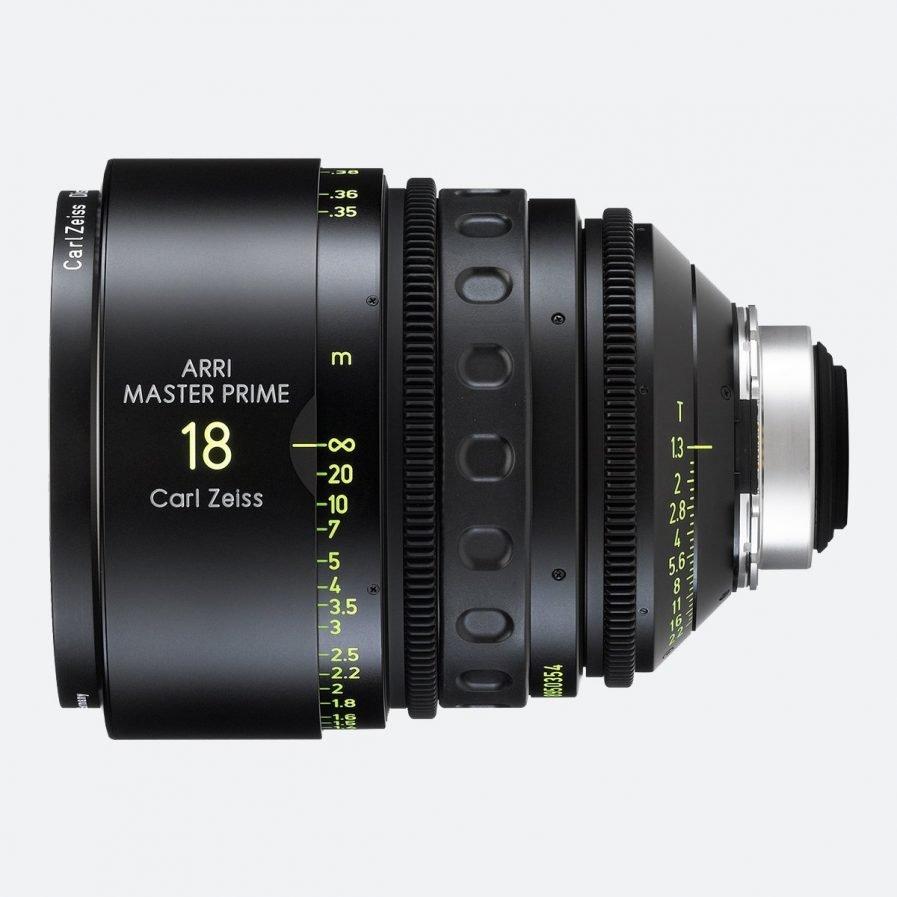ARRI 18mm T1.3 Master Prime Lens