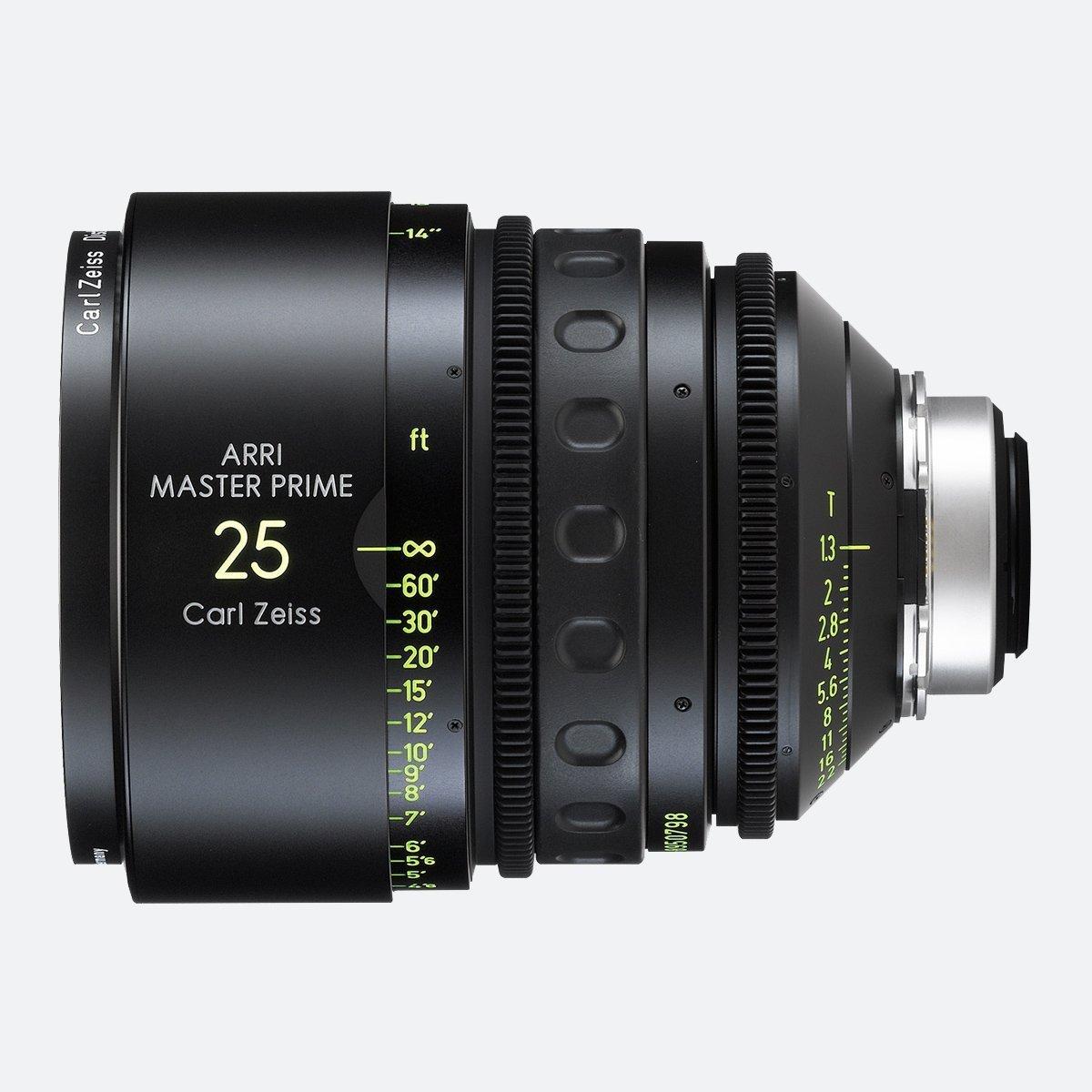 ARRI 25mm T1.3 Master Prime Lens