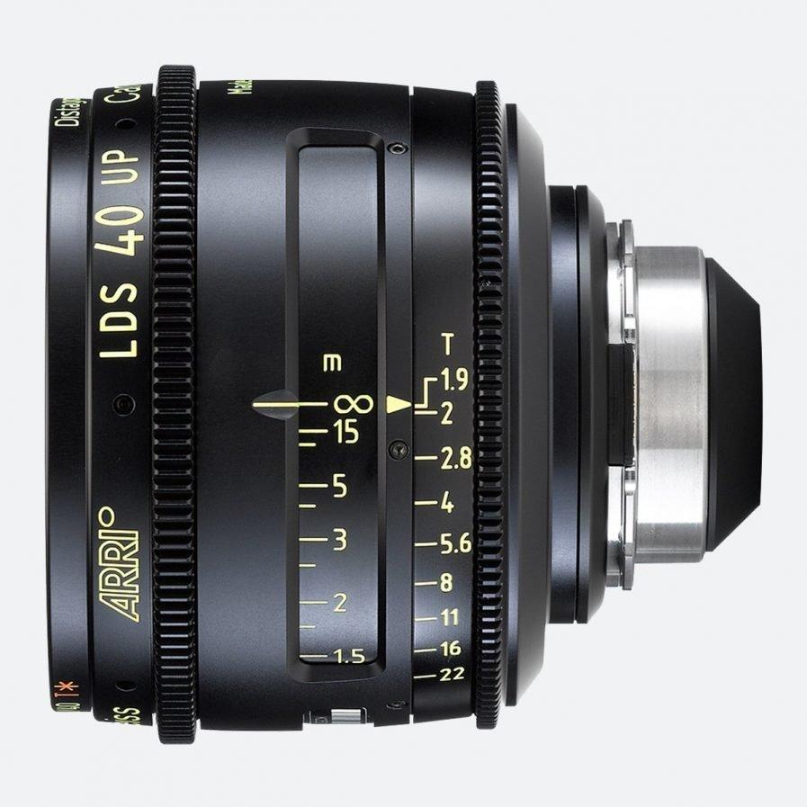 ARRI 40mm T1.9 LDS Ultra Prime Lens