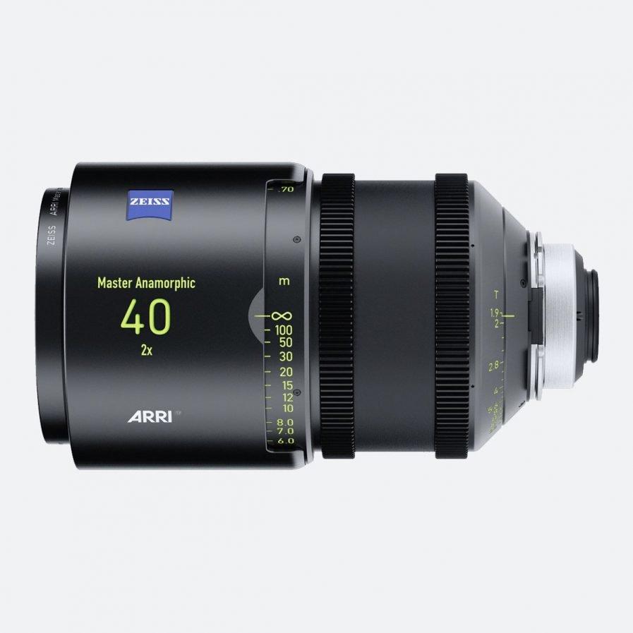 ARRI 40mm T1.9 Master Anamorphic Lens