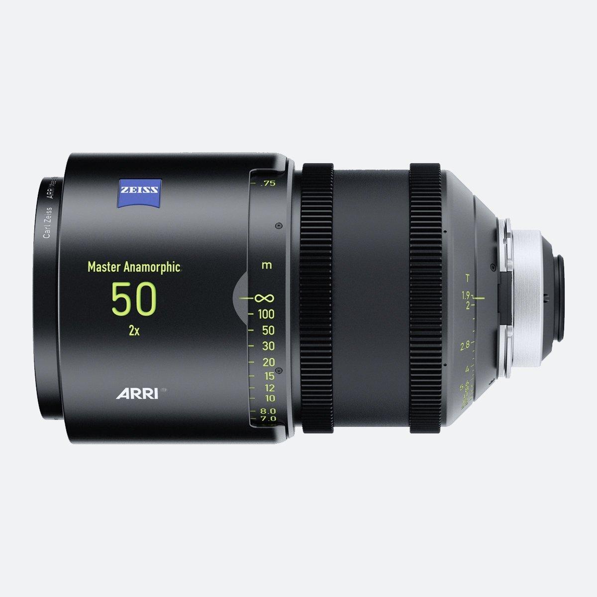ARRI 50mm T1.9 Master Anamorphic Lens
