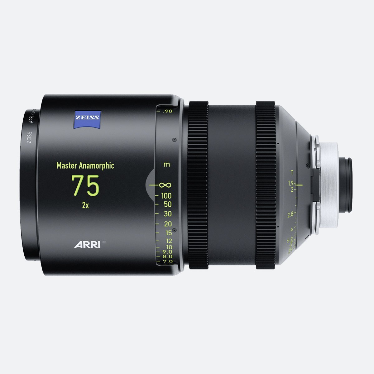 ARRI 75mm T1.9 Master Anamorphic Lens