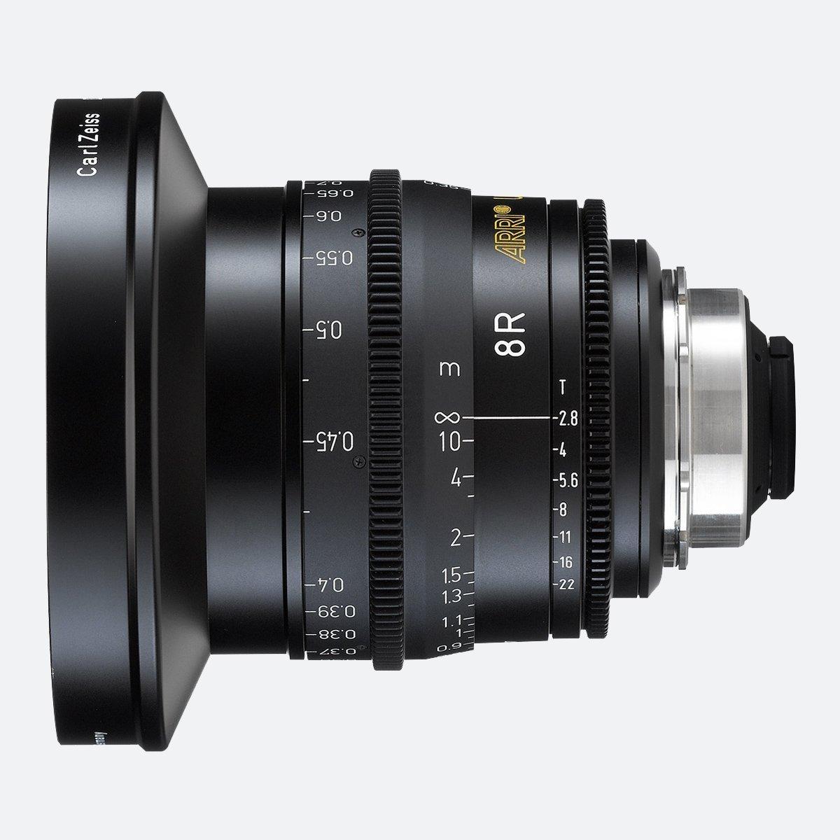 ARRI 8R 8mm T2.8 Ultra Prime Lens