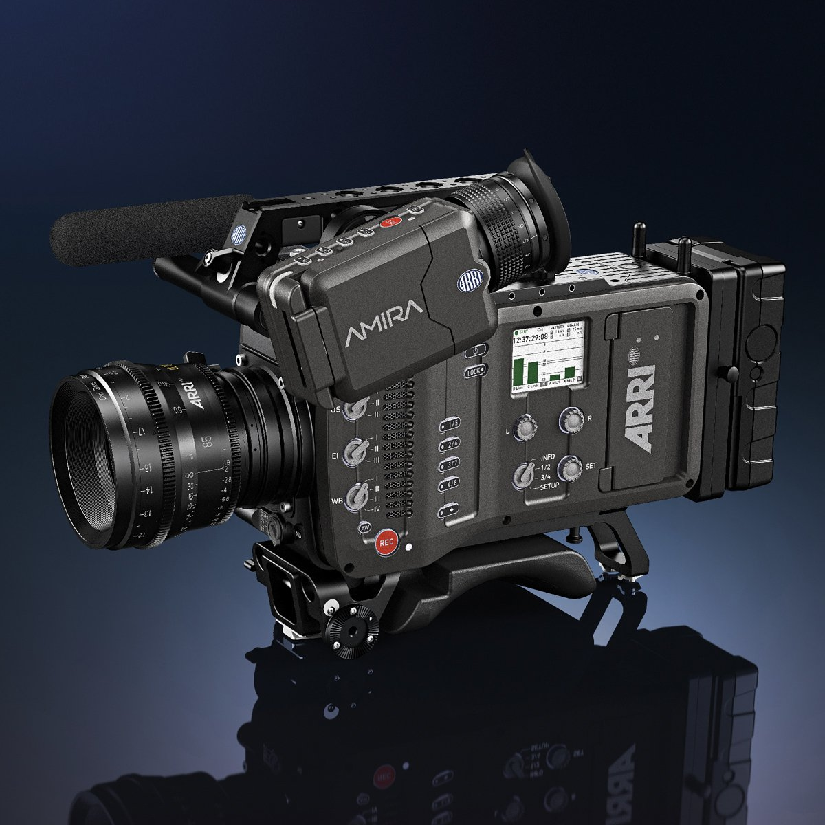 ARRI AMIRA up to 200fps 4K versatile documentary-style camera