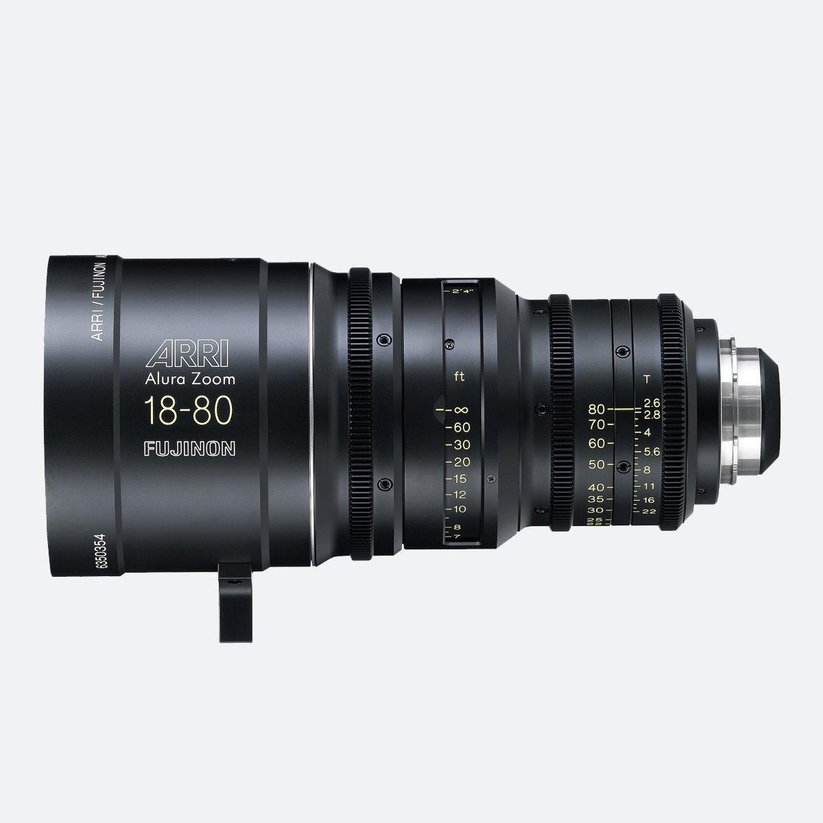 ARRI Alura 18-80mm T2.6 Studio Zoom Lens