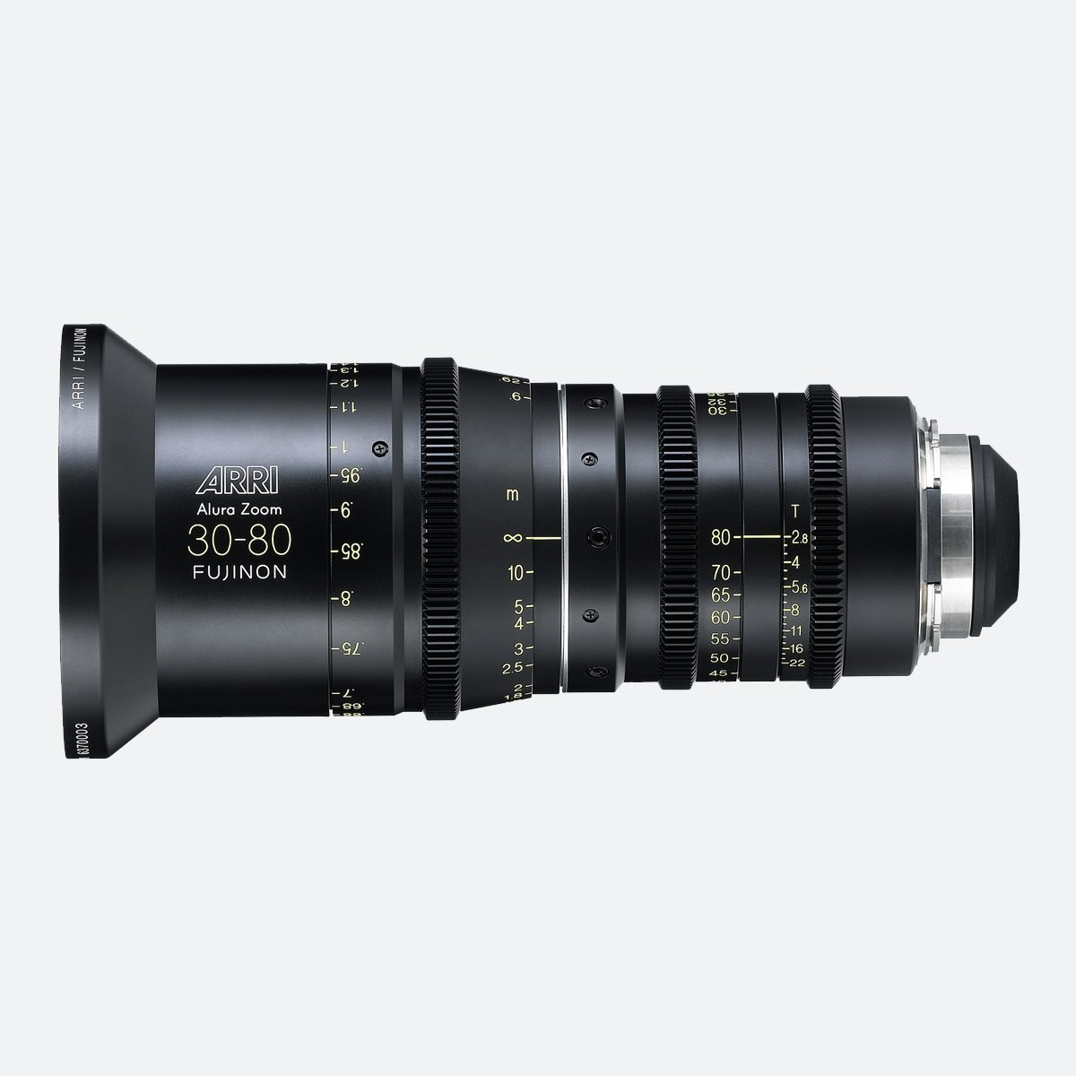ARRI Alura 30-80mm T2.8 Lightweight Zoom Lens