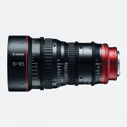 Canon CN-E30-105mm T2.8 L S/SP 4K Cinema Zoom Lens