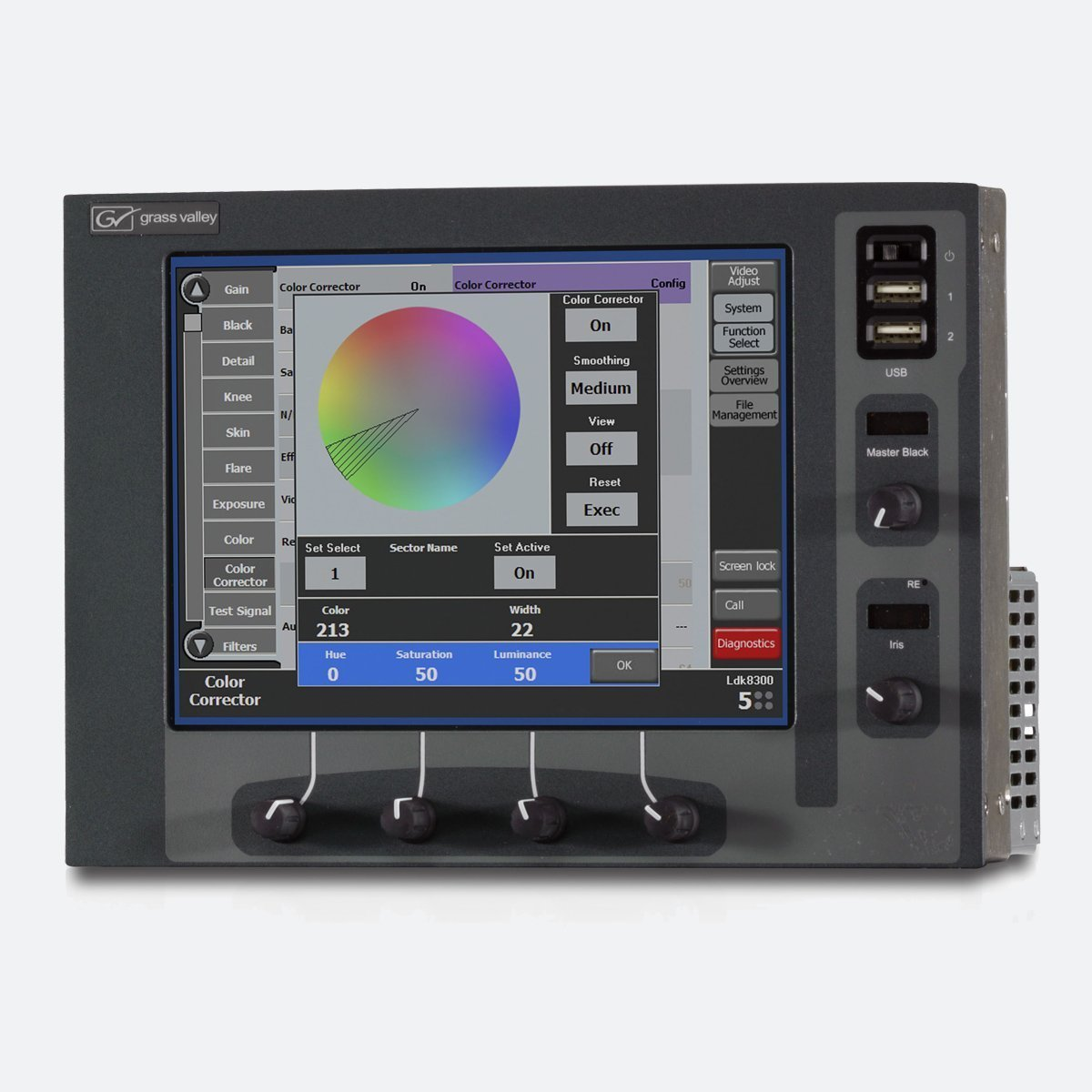 Grass Valley MCP-400 Master Control Panel