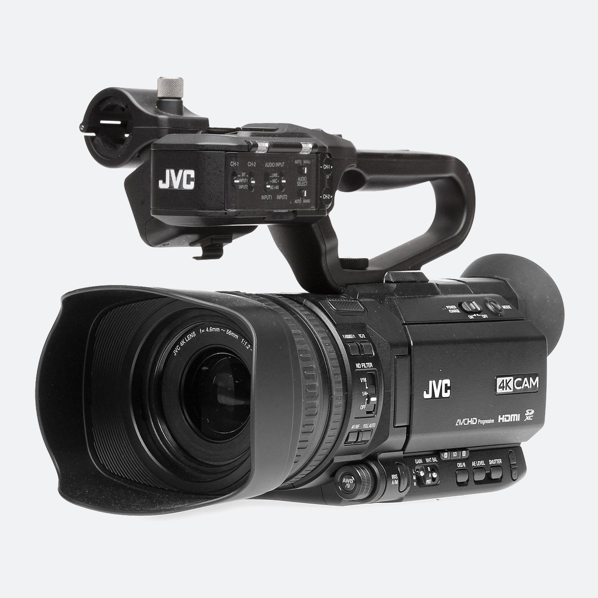 JVC GY-HM200 4KCAM live streaming camcorder