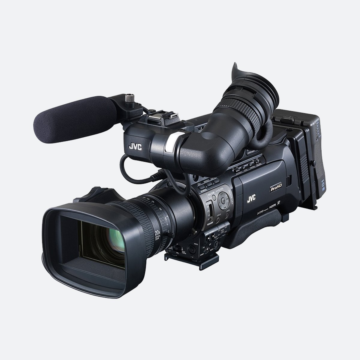 JVC GY-HM890 Full HD shoulder-mount ENG/studio camcorder