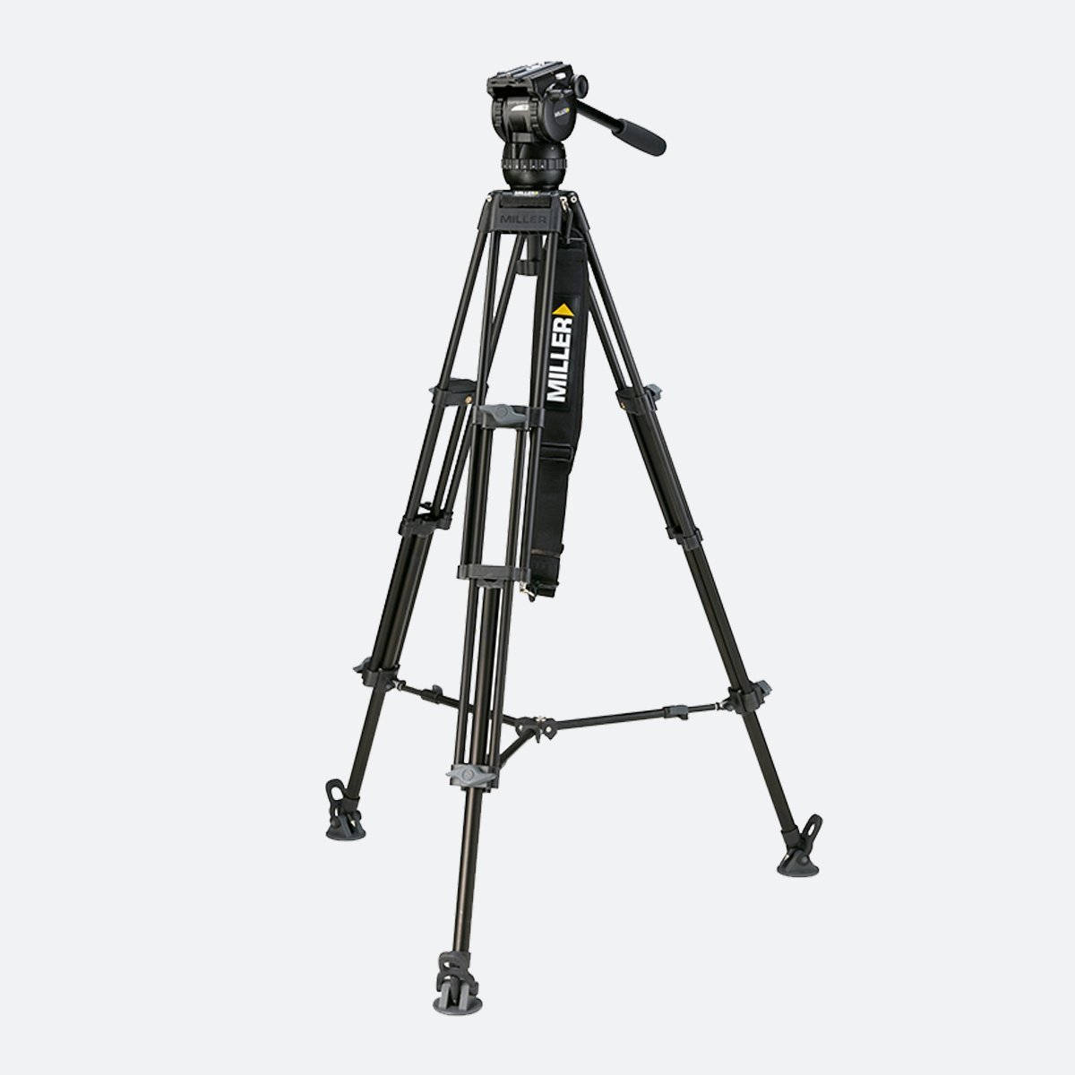 Miller 1828 Compass 15 Toggle 2-Stage Alloy Tripod System