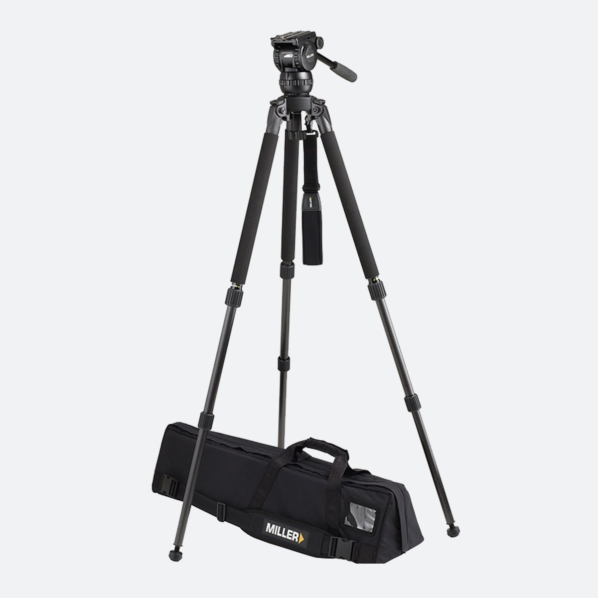 Miller 1831 Compass 15 Solo 2-Stage Alloy Tripod System