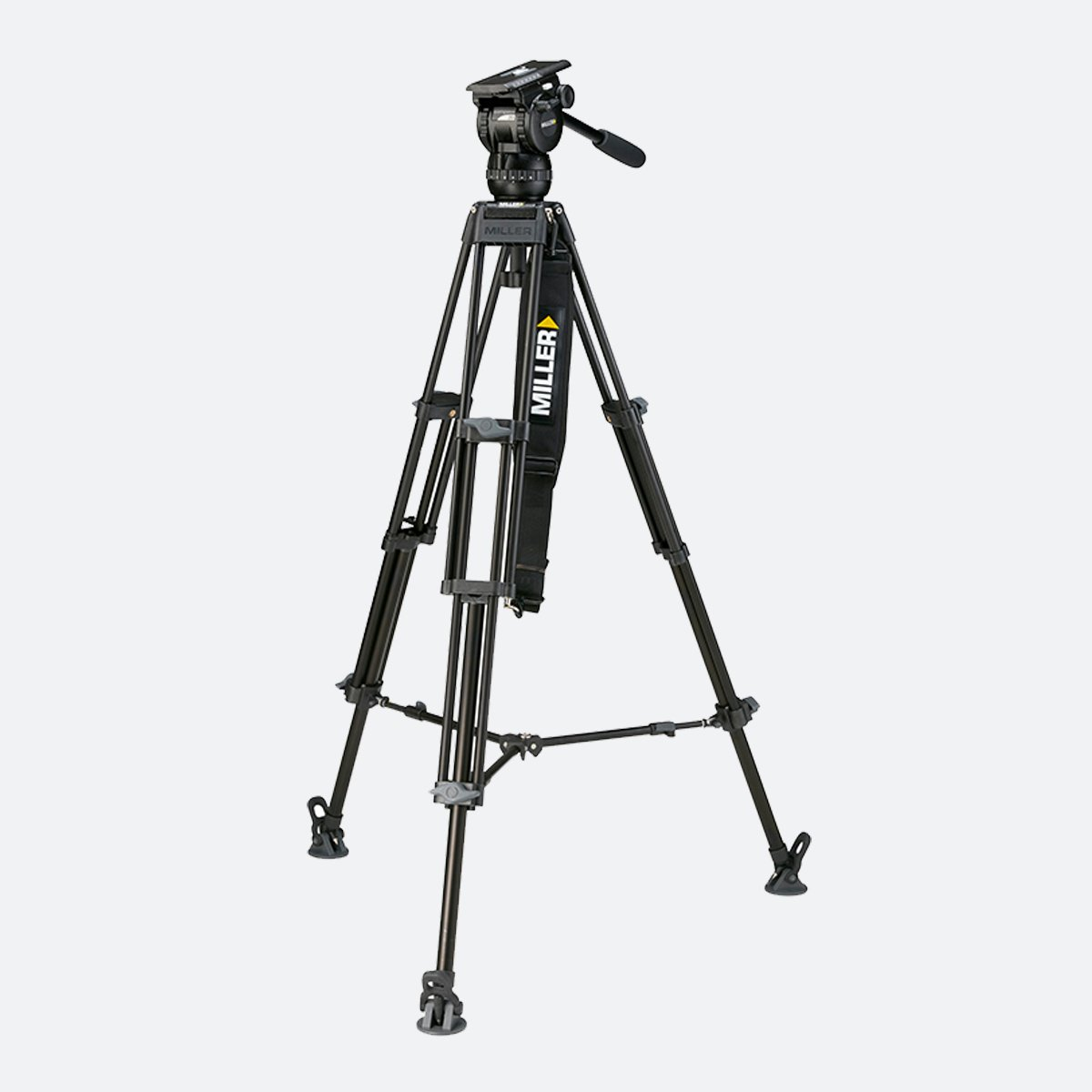 Miller 1841 Compass 20 Toggle 2-Stage Alloy Tripod System