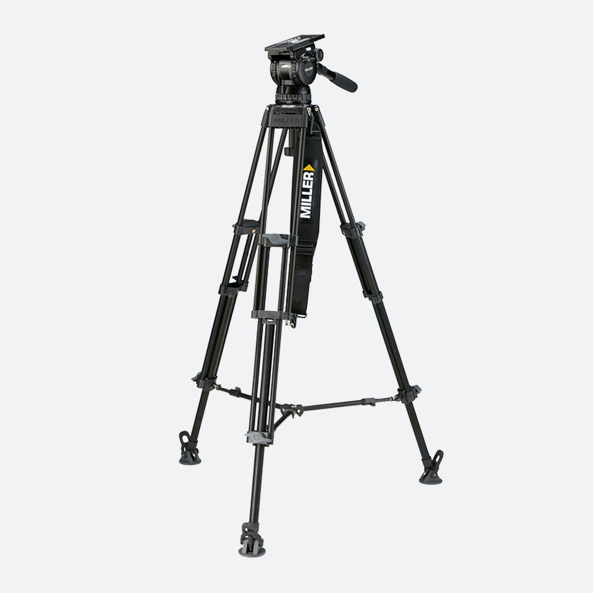 Miller 1852 Compass 25 Toggle 2-Stage Alloy Tripod System