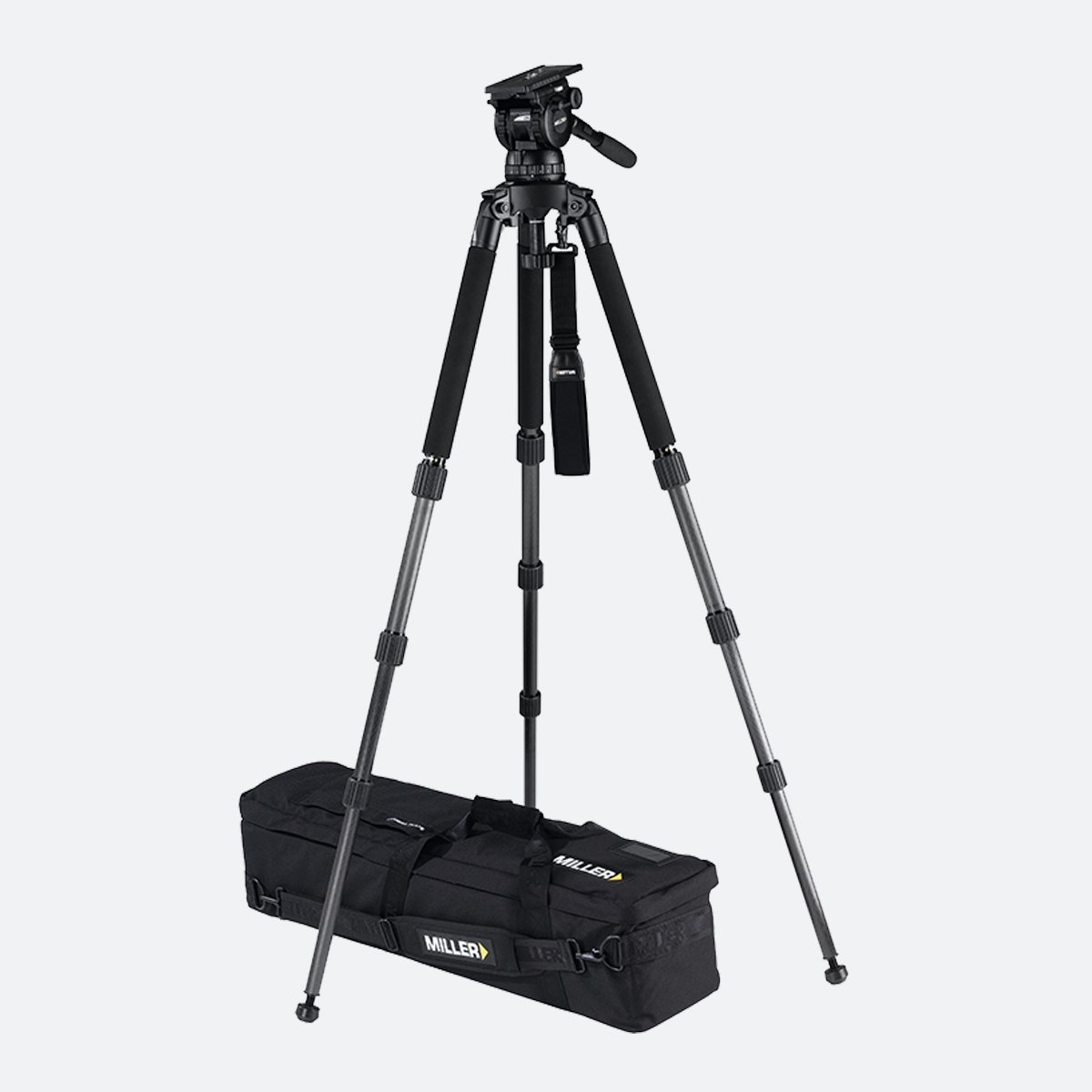 Miller 1857 Compass 25 Solo 3-Stage CF Tripod System