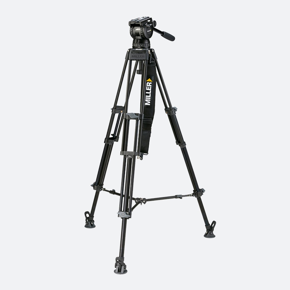 Miller 1863 Compass 23 Toggle 2-Stage Alloy Tripod System