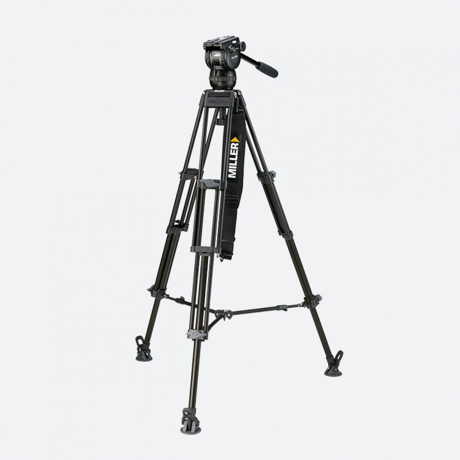 Miller 1874 Compass 12 Toggle 2-Stage Alloy Tripod System