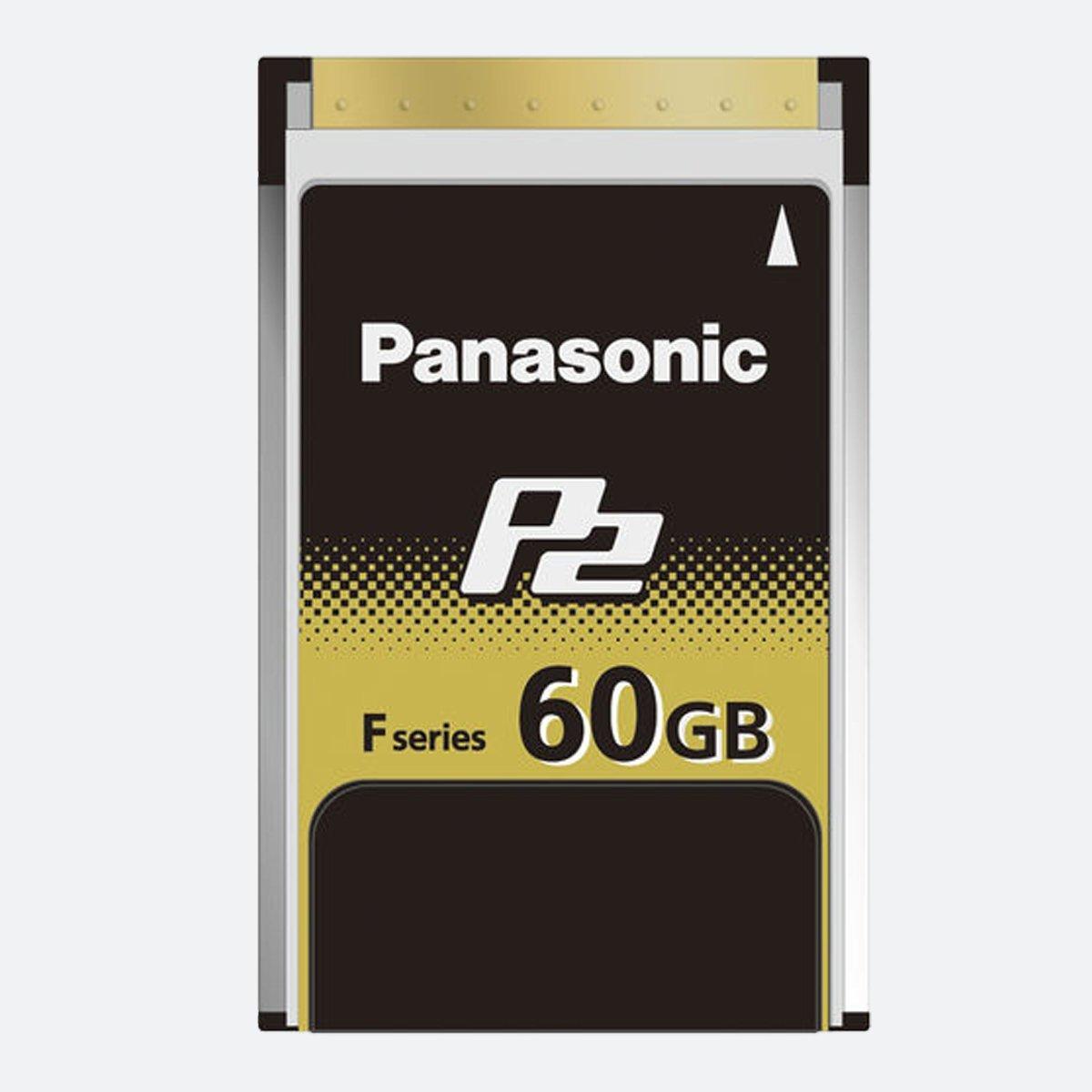 Ex-Demo Panasonic AJ-P2E060FG 60GB P2 F Series Memory Card