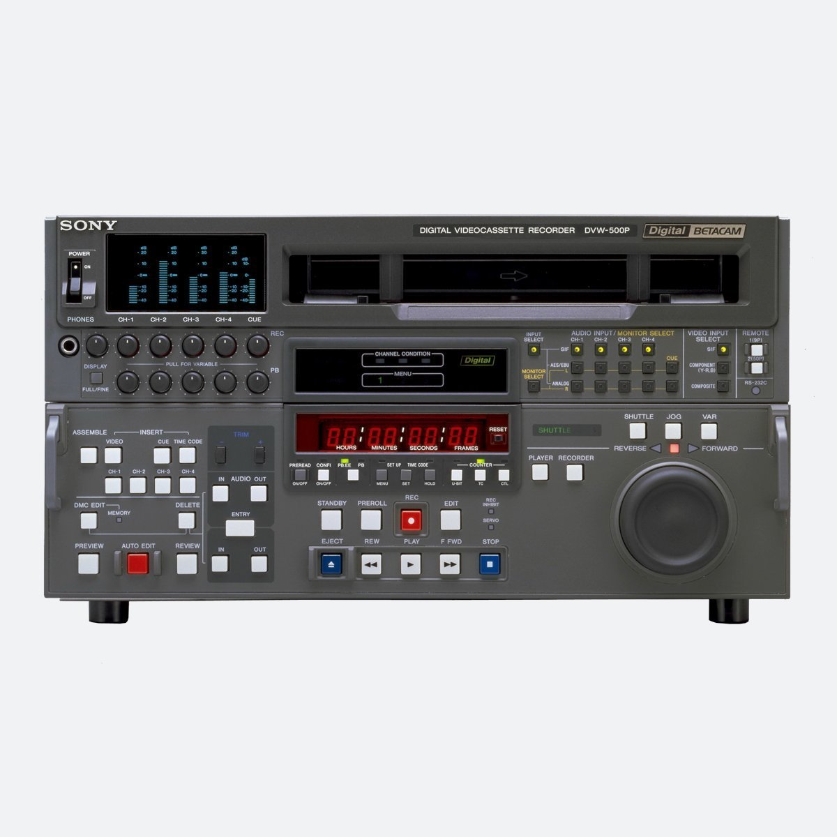 Sony DVW-A500P PAL Digital Betacam Recorder