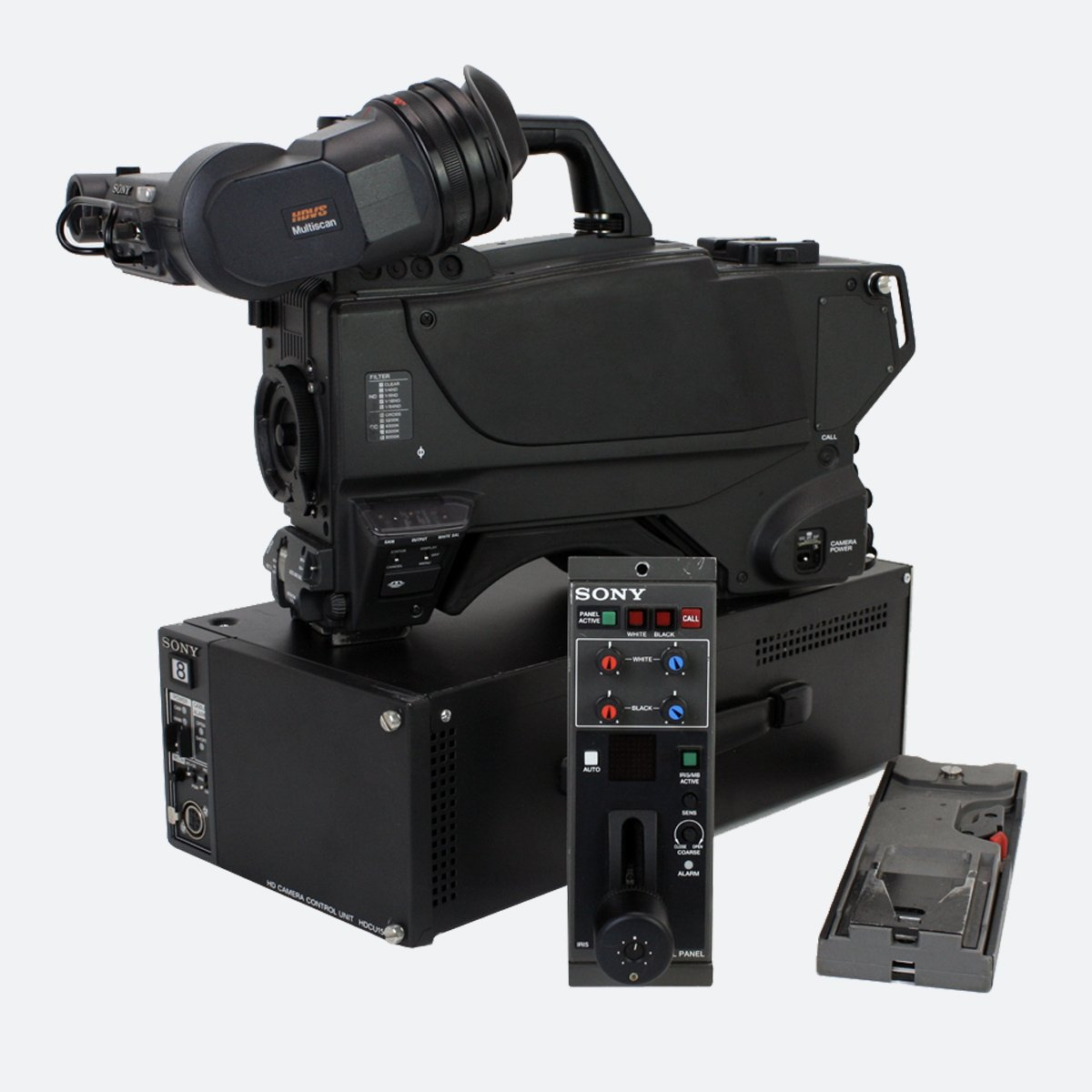 Used Sony HDC-1500 Multi-Format HD Camera System