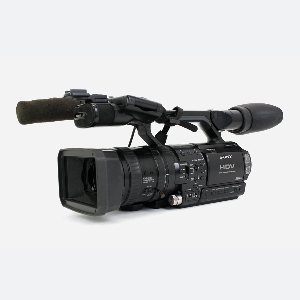 "Used Sony HVR-Z1E HDV 1/3"" 3CCD Handheld Camcorder"