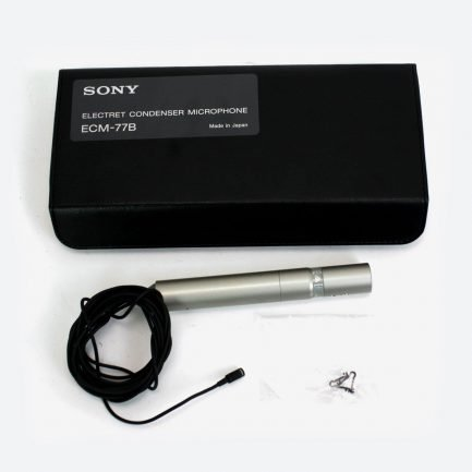 Ex-Demo Sony ECM-77B lapel microphone