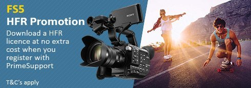 Sony_PXW-FS5 High Frame Rate (HFR) Promo