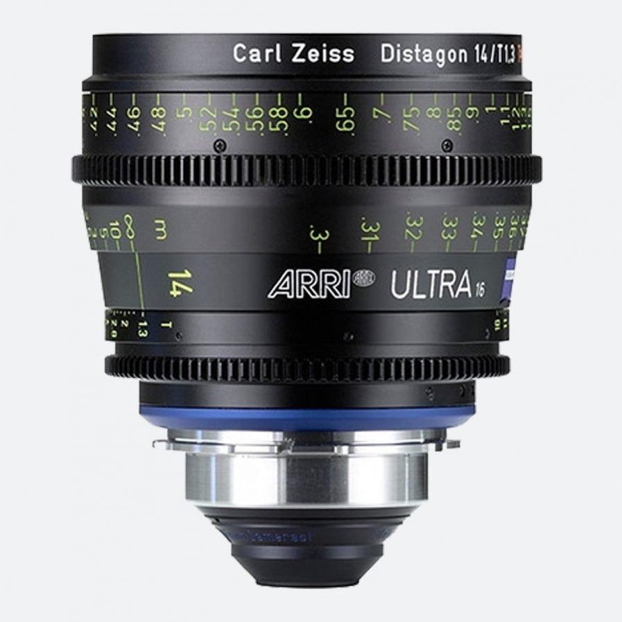 ARRI Ultra 16 T1.3 / 14 mm Prime Lens
