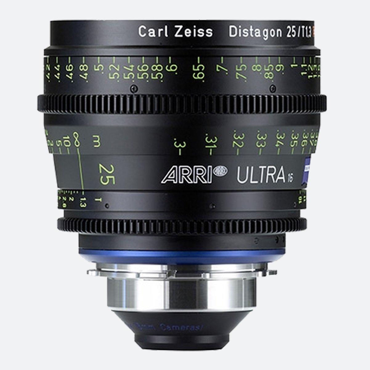 ARRI Ultra 16 T1.3 / 25 mm Prime Lens
