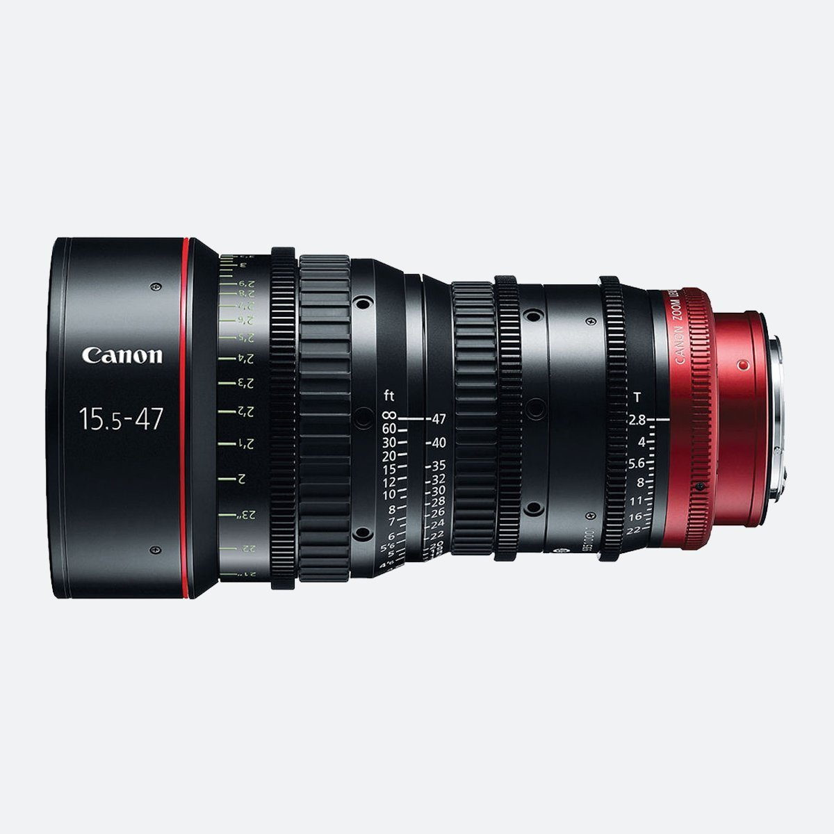 Canon CN-E 15.5-47mm T2.8 L 4K Cinema Zoom Lens