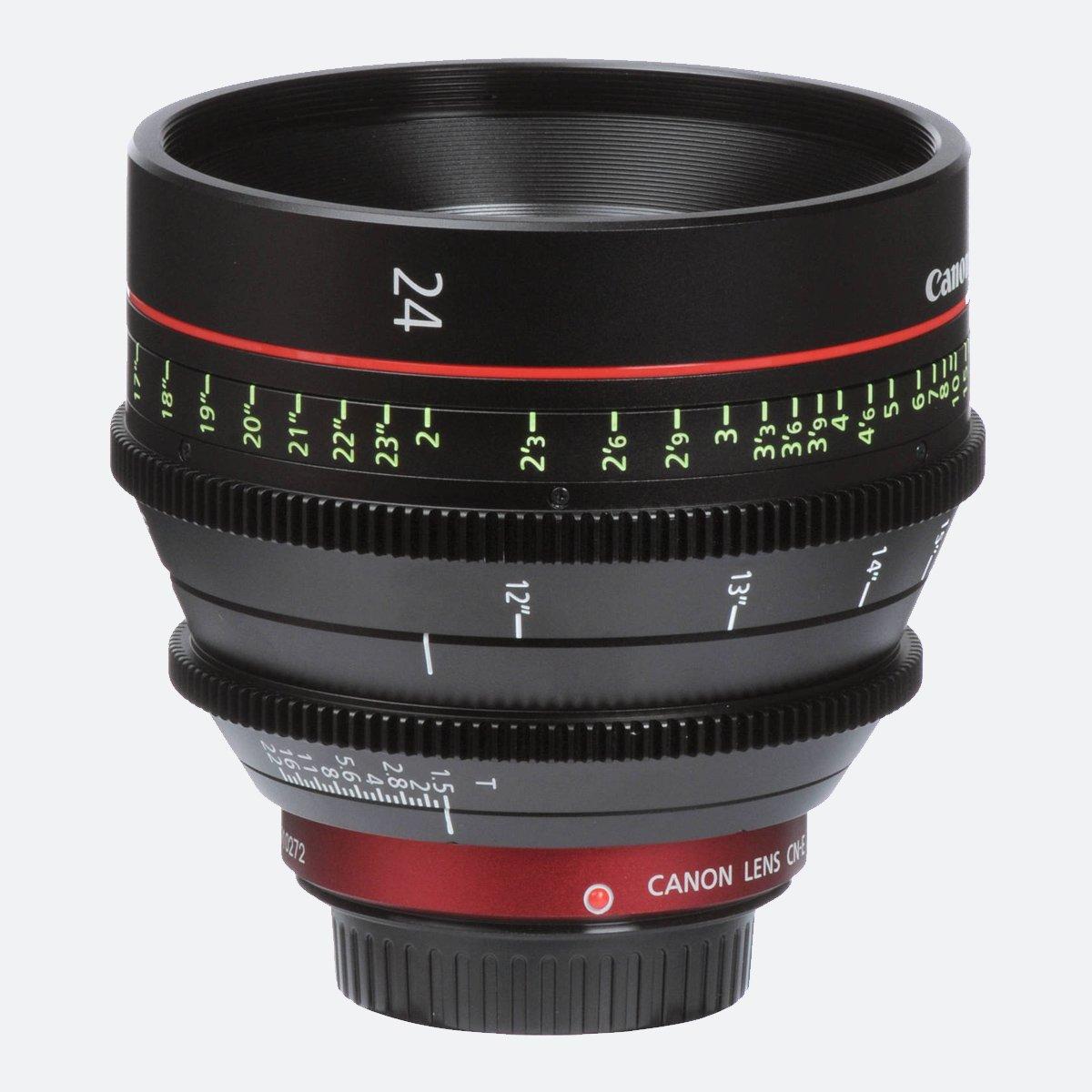 Canon CN-E 24mm T1.5 L F Cinema Prime Lens