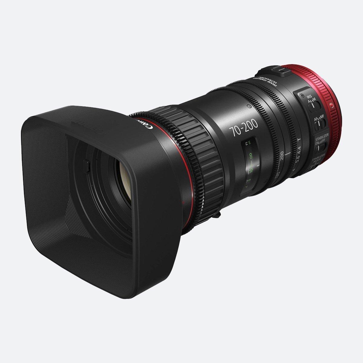 Canon CN-E 70-200mm T4.4 EF Cine-servo 4K Lens