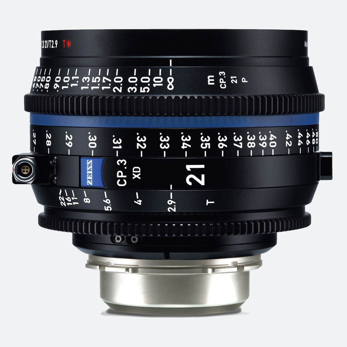 Zeiss CP.3 XD 21mm T/2.9 Compact Prime Cine Lens