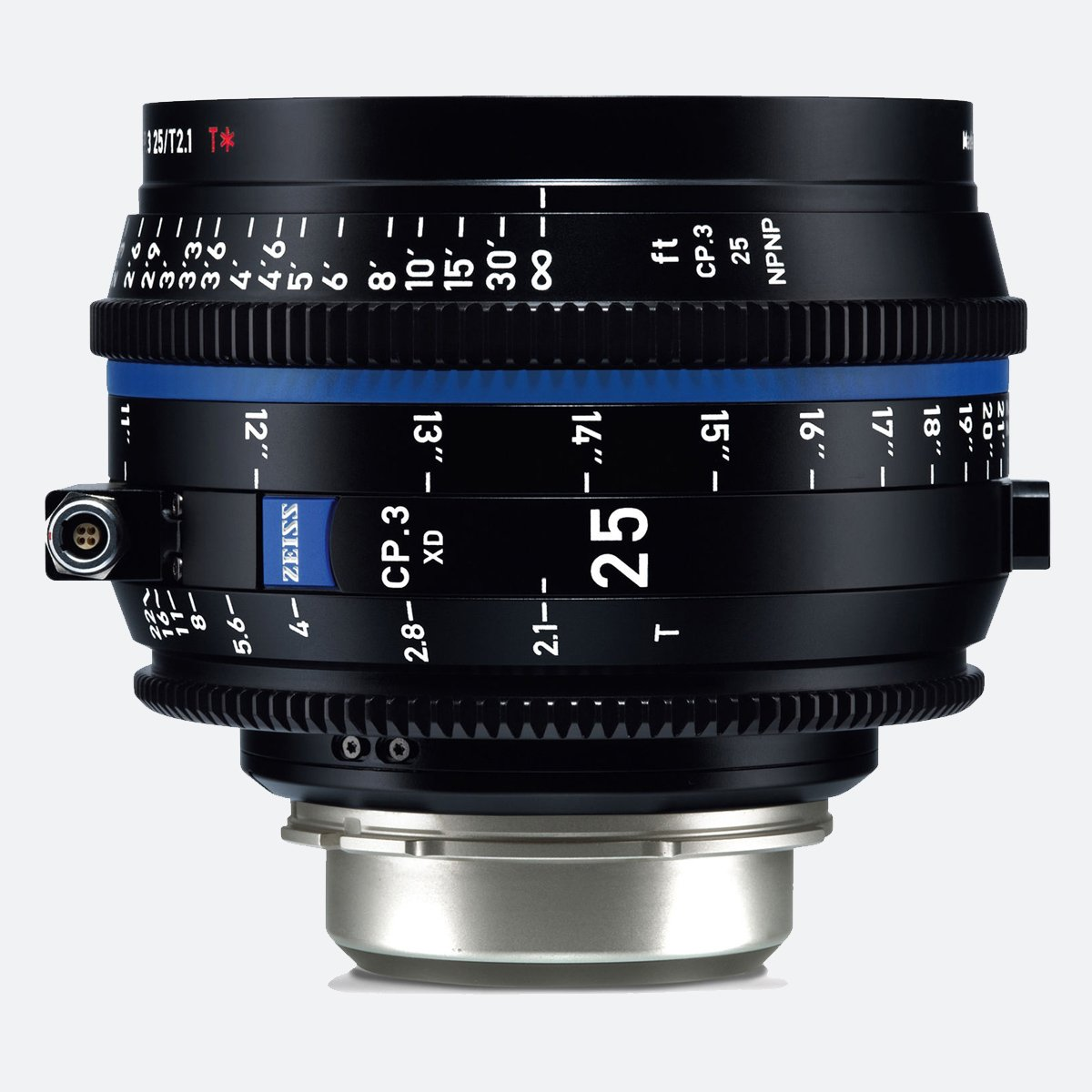 Zeiss CP.3 XD 25mm T/2.1 Compact Prime Cine Lens