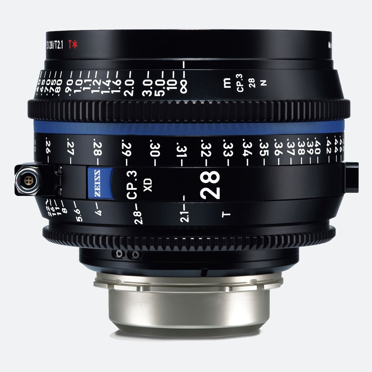 Zeiss CP.3 XD 28mm T/2.1 Compact Prime Cine Lens