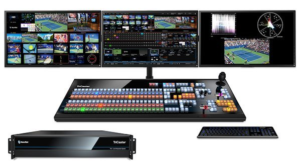 NewTek TriCaster TC1 4K 60P live production system