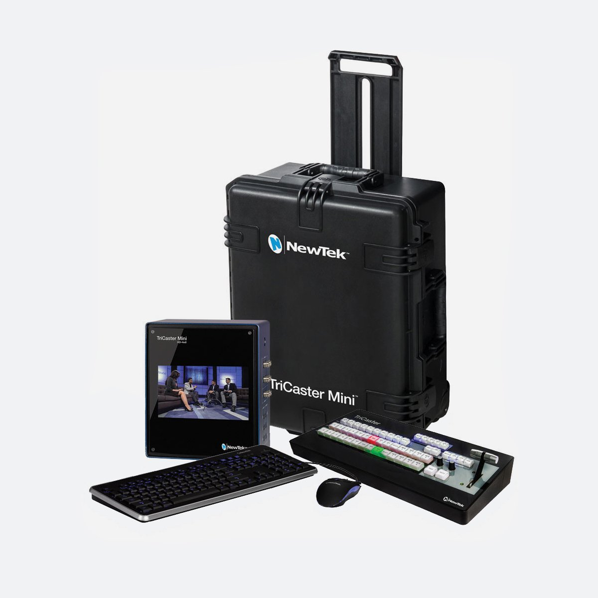 NewTek TriCaster Mini HD-4sdi SDI Bundle new