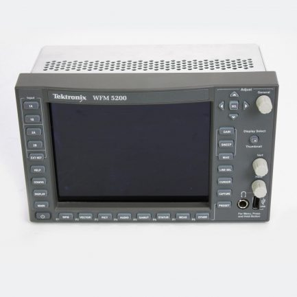 Used Tektronix WFM 5200 3G/HD/SD Waveform Monitor