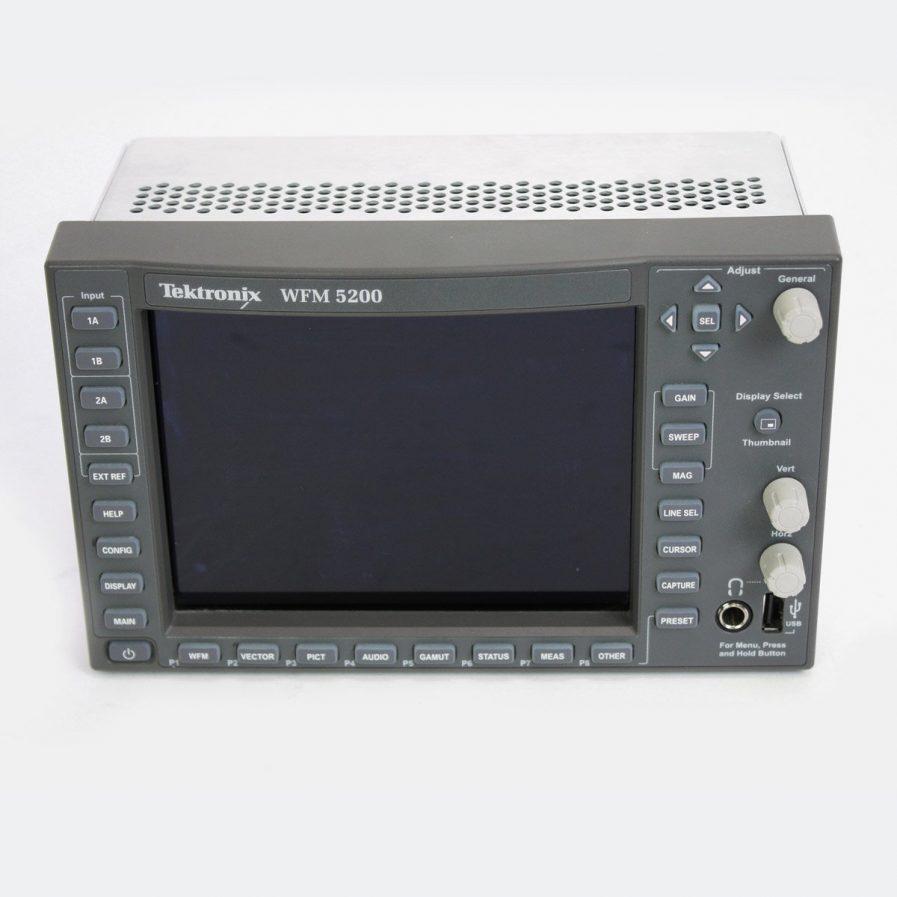 Used Tektronix WFM 5200 3G/HD/SD Waveform Monitor