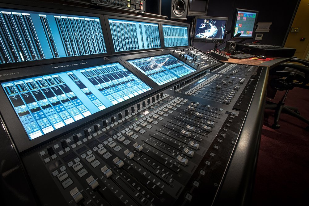 The newly installed SSL System T console at The Hospital Club Studios