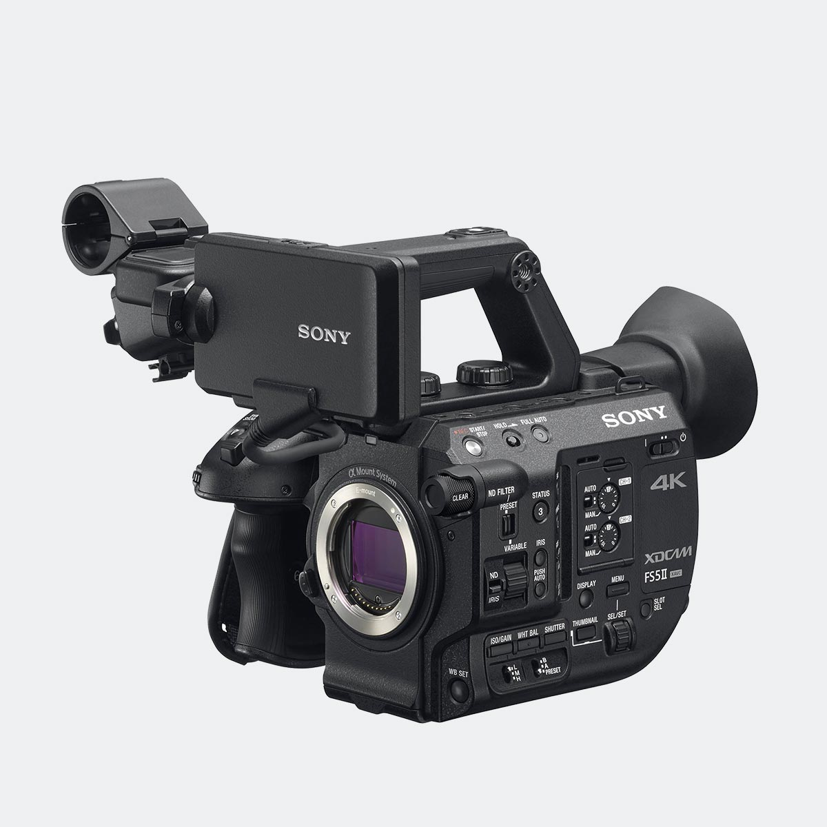 Sony PXW-FS5 II (FS5M2) Handheld Super 35 Camcorder