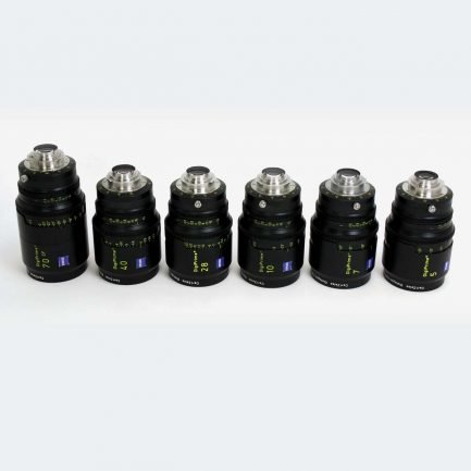 Used Zeiss DigiPrime B4 Cine Lenses