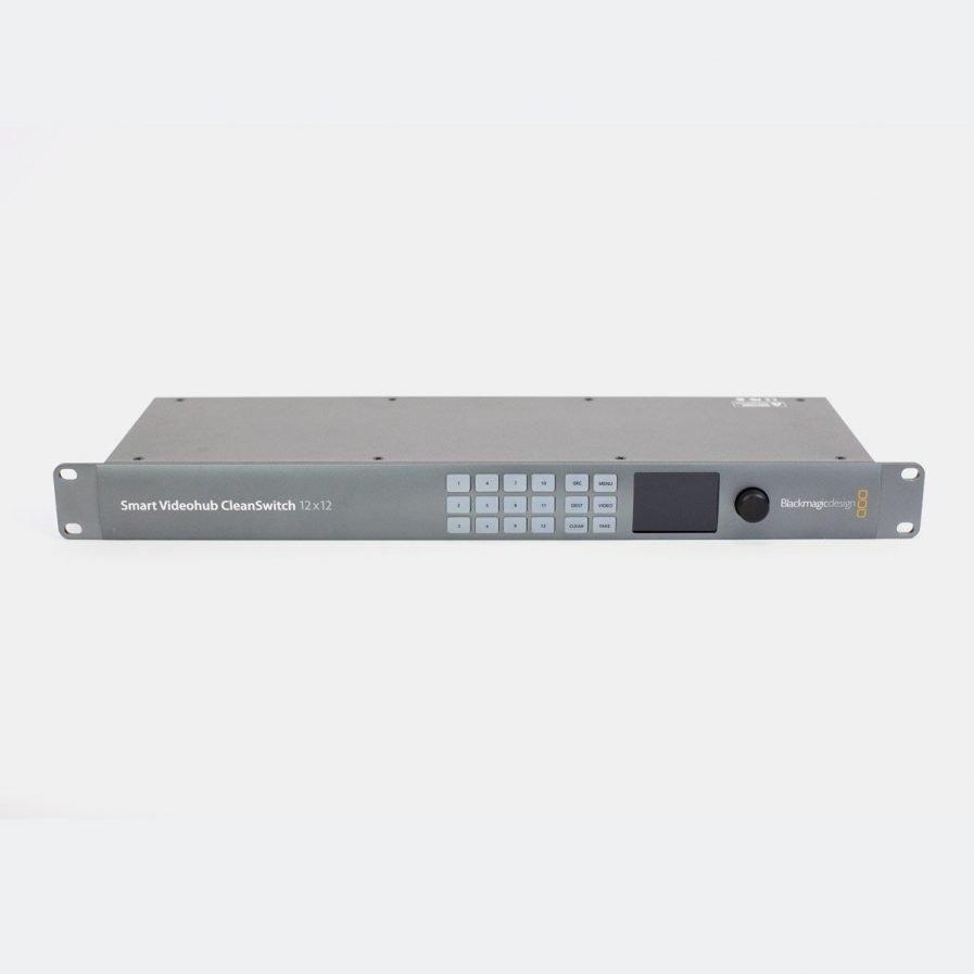 Used Blackmagic VHUBSMTCS6G1212 Smart Videohub 12x12