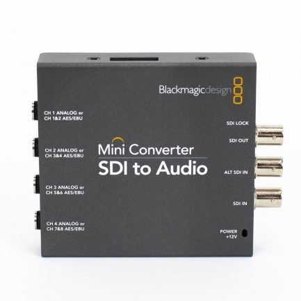 Used Blackmagic CONVMCSAUD Mini Converter SDI to Audio