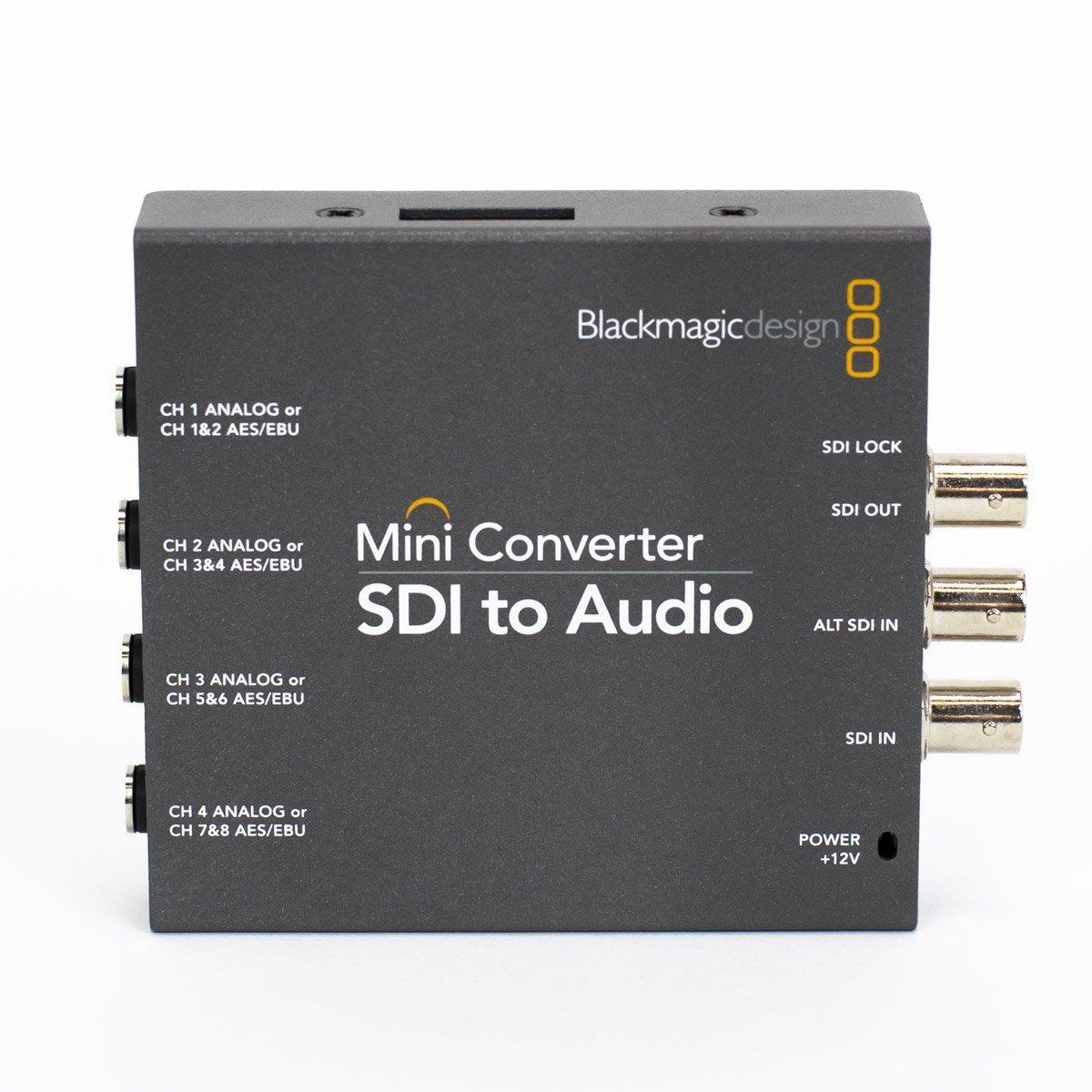 Used Blackmagic CONVMCSAUD Mini Converter SDI to Audio