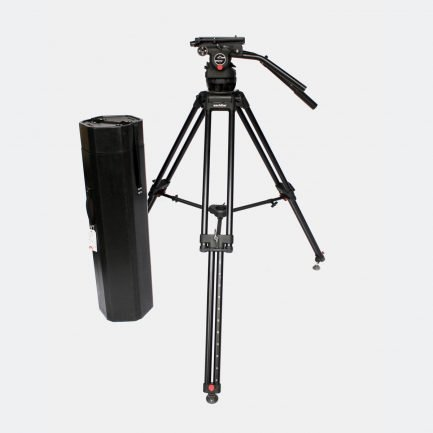 Sachtler Video 75 Plus head with OB-2000 tripod legs.