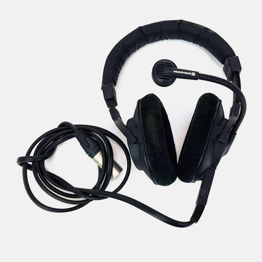 Used Beyerdynamic DT290 headset with dynamic microphone